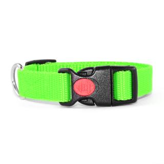 Neon Grün Hundehalsband 24-34cm