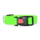 Neon Grün Hundehalsband 34-54cm