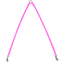 Mini Koppel 2x35cm Neon Rosa