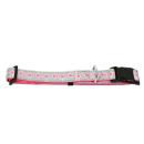 Hundehalsband Candy Reflektierend Pink XL 45-70cm / 25mm