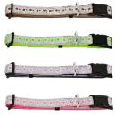 Hundehalsband Candy Reflektierend Lila S 19-25cm / 10mm