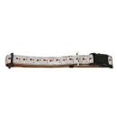 Hundehalsband Candy Reflektierend Braun S 19-25cm / 10mm