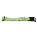 Hundehalsband Candy Reflektierend Braun M 25-35cm / 15mm