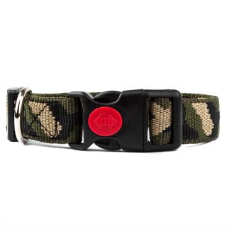 Hundehalsband Camouflage 15mm 34-54cm