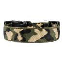 Hundehalsband Camouflage 15mm 44-74cm