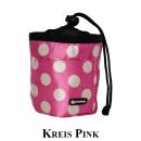 Leckerlitasche Kreis Pink