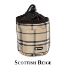 Leckerlitasche Scottish Beige