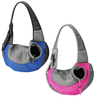Hundetragetasche Sarah Blau M