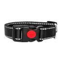 Hundehalsband Reflektierend Rot 34-54cm / 20mm