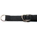 Zughalsband mit Zugstopp 15mm / 24-34cm