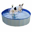 Hundepool rund blau