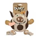 Canvas Hundespielzeug Plüsch-Kuh