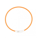 Duvo+ Flash Light Ring Leuchthalsband Nylon USB L 65 cm...