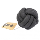 D&D Home Knotenball Hundespielzeug schwarz XS 6 cm