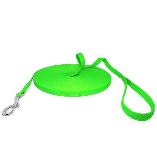 Robuste Neongrün Schleppleine 10m