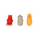 Latexspielzeug Nilpferd/Schwein/Nashorn